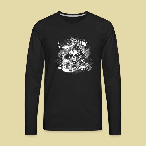 hoh_tshirt_skullhouse - Men's Premium Long Sleeve T-Shirt