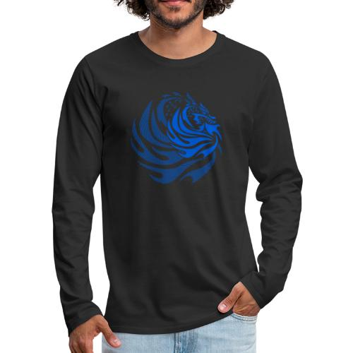 Fire Dragon - Men's Premium Long Sleeve T-Shirt