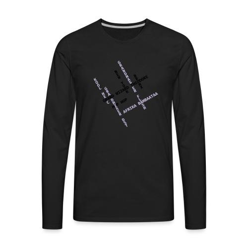 Hip Hop PioneersII - Men's Premium Long Sleeve T-Shirt