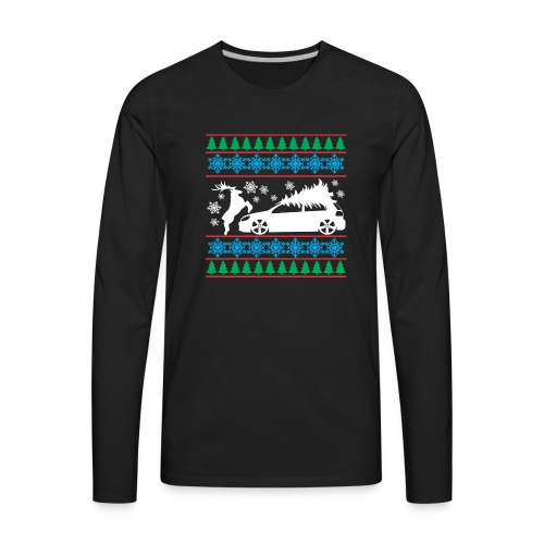 MK6 GTI Ugly Christmas Sweater - Men's Premium Long Sleeve T-Shirt