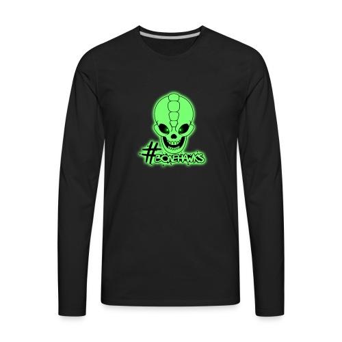 Official Bonehawks T-Shirt - Men's Premium Long Sleeve T-Shirt