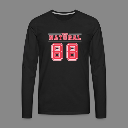 Team Natural 88 - Men's Premium Long Sleeve T-Shirt