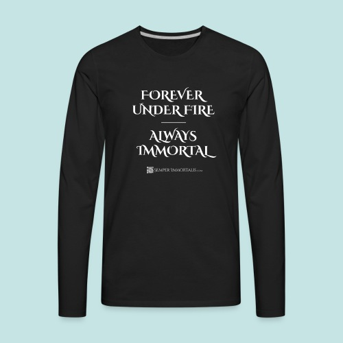 Always Immortal (white) - Men's Premium Long Sleeve T-Shirt