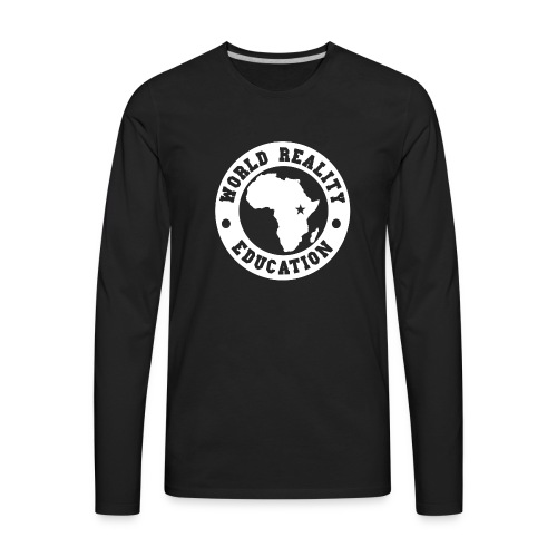 WRED Uganda Hoodie - Men's Premium Long Sleeve T-Shirt