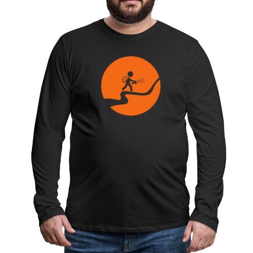 Nightcaching Guy - Men's Premium Long Sleeve T-Shirt