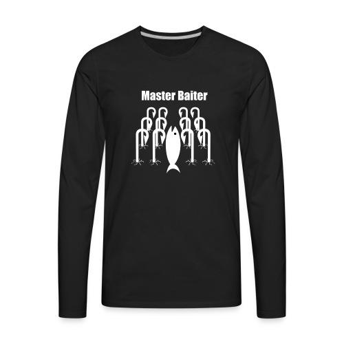 master baiter - Men's Premium Long Sleeve T-Shirt