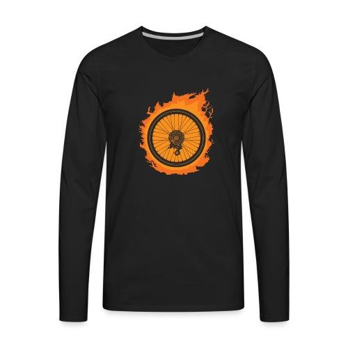 Bike Fire - Men's Premium Long Sleeve T-Shirt