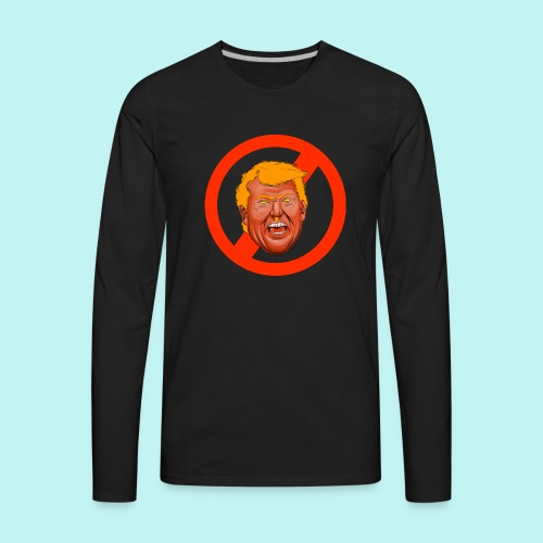 Dump Trump - Men's Premium Long Sleeve T-Shirt