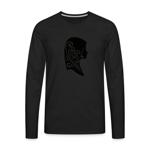 muslimah - Men's Premium Long Sleeve T-Shirt