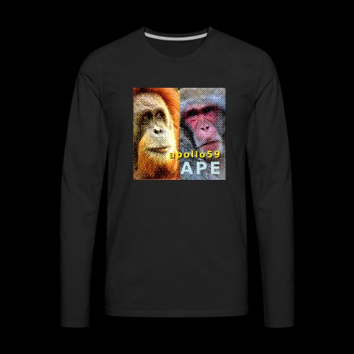 APE - Apollo59 Cover Art - Men's Premium Long Sleeve T-Shirt