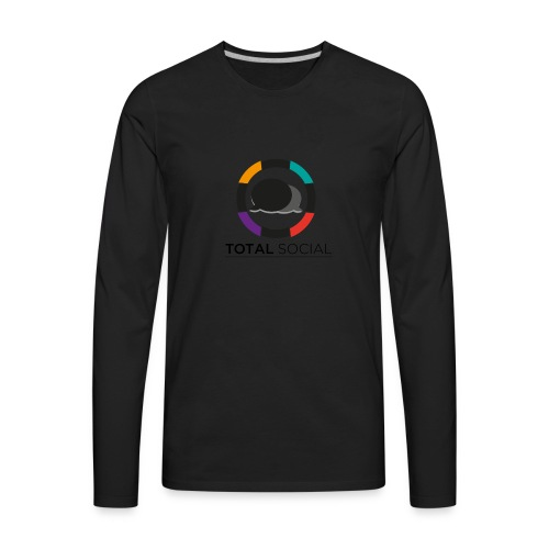 Logo_Total_Social_PNG_03 - Men's Premium Long Sleeve T-Shirt