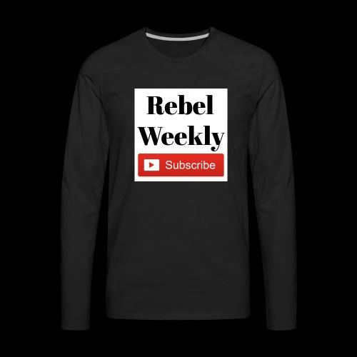 Rebel Weekly - Men's Premium Long Sleeve T-Shirt