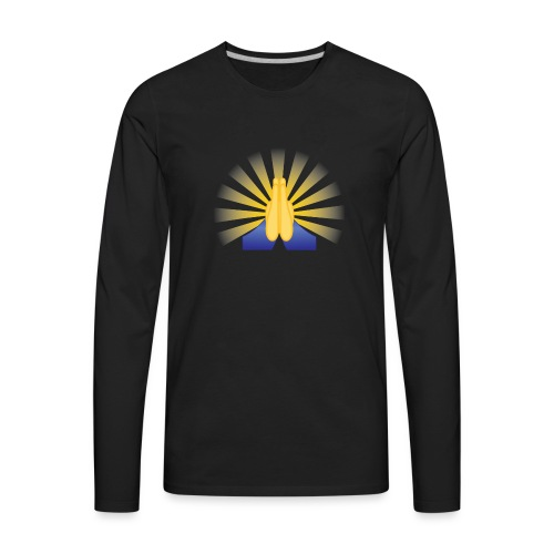 Prayer Hands - Men's Premium Long Sleeve T-Shirt