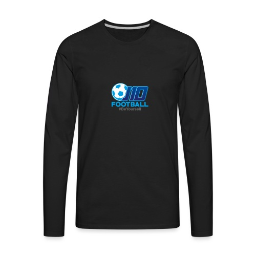 J10football merchandise - Men's Premium Long Sleeve T-Shirt