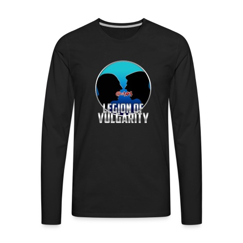 #LegionOfVulgarity Logo - Men's Premium Long Sleeve T-Shirt
