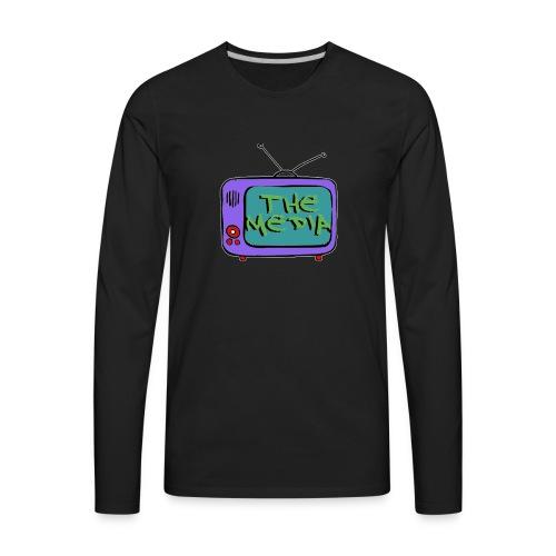 Themedia Logo - Men's Premium Long Sleeve T-Shirt