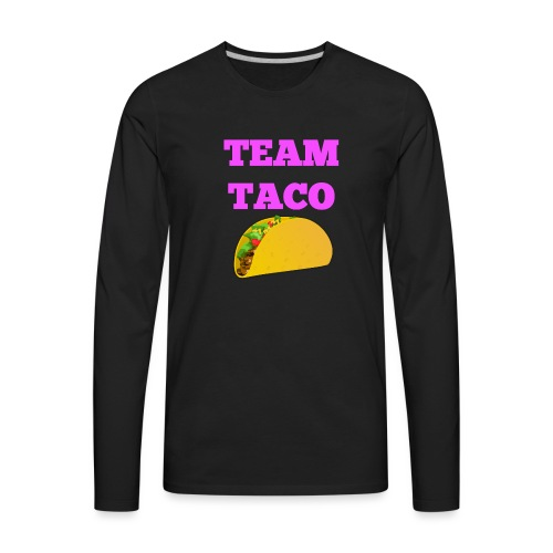 TEAMTACO - Men's Premium Long Sleeve T-Shirt