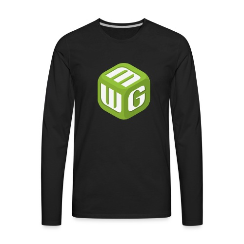 Steve Sized MWG T-Shirt (3XT) - Men's Premium Long Sleeve T-Shirt