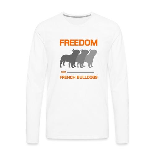 French Bulldogs - Men's Premium Long Sleeve T-Shirt