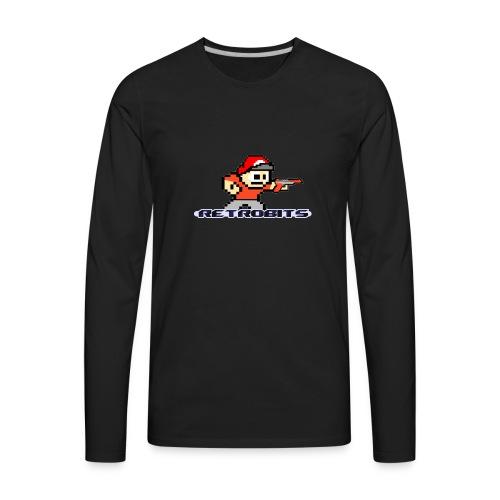 RetroBits Clothing - Men's Premium Long Sleeve T-Shirt