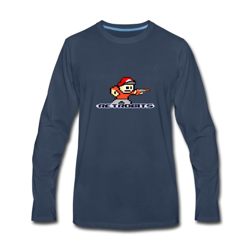 RetroBits Clothing - Men's Premium Long Sleeve T-Shirt