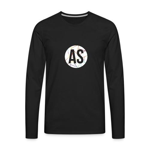 Pastille AvecSimon (AS) -Femme- - Men's Premium Long Sleeve T-Shirt