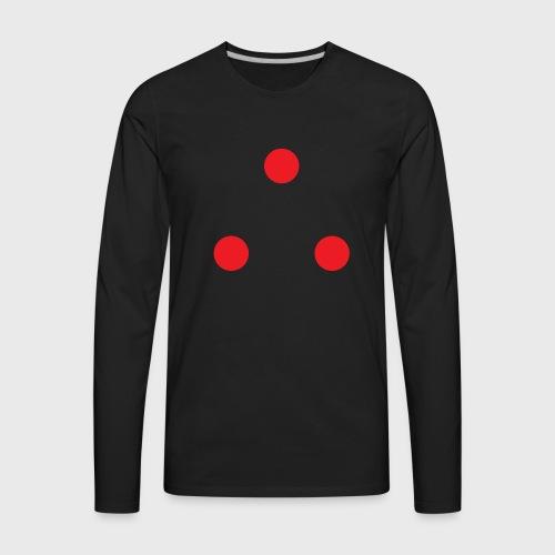 Predator Three Dots - Men's Premium Long Sleeve T-Shirt