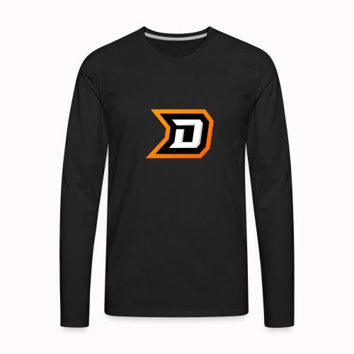 Delvige Logo - Men's Premium Long Sleeve T-Shirt