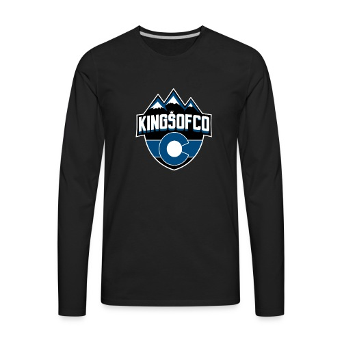 KCO New Logo Clear Background.png - Men's Premium Long Sleeve T-Shirt