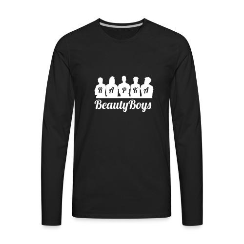 Beauty Boys RAPKA Black T-Shirt - Men's Premium Long Sleeve T-Shirt