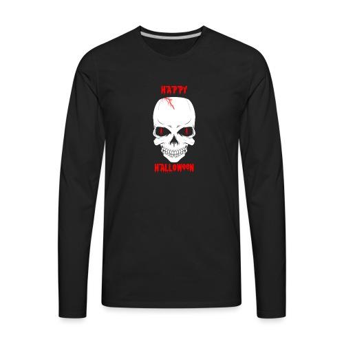 Halloween Skull - Men's Premium Long Sleeve T-Shirt