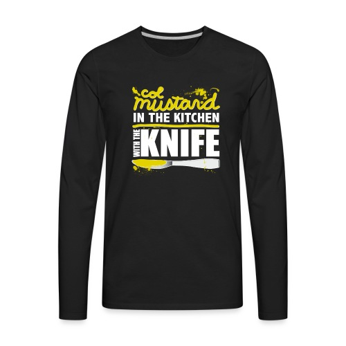 Colonel Mustard - Men's Premium Long Sleeve T-Shirt
