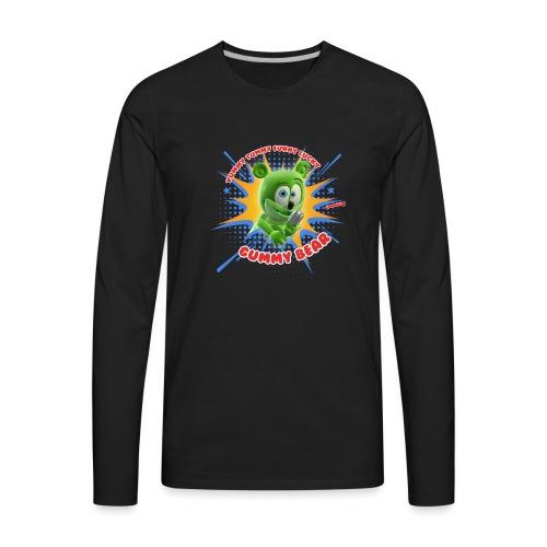 Funny Lucky Gummy Bear - Men's Premium Long Sleeve T-Shirt