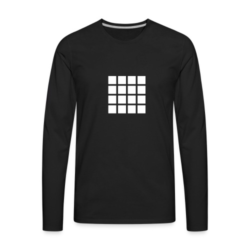 Drum Pads - Men's Premium Long Sleeve T-Shirt