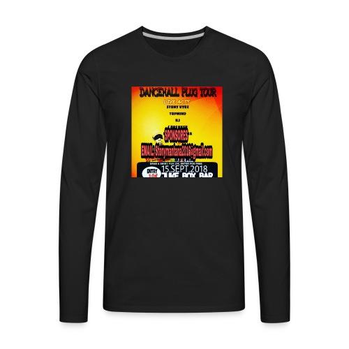 Dancehall plug tour Germany t-shirts TWG MUSIC - Men's Premium Long Sleeve T-Shirt