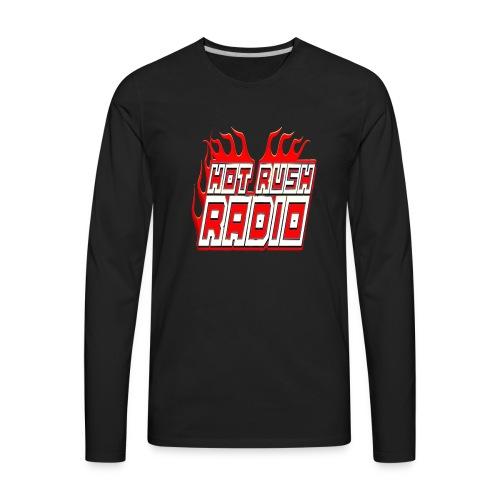 worlds #1 radio station net work - Men's Premium Long Sleeve T-Shirt