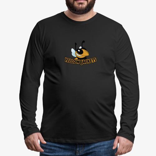 Yellow Jackets Roanoke Rapids - Men's Premium Long Sleeve T-Shirt