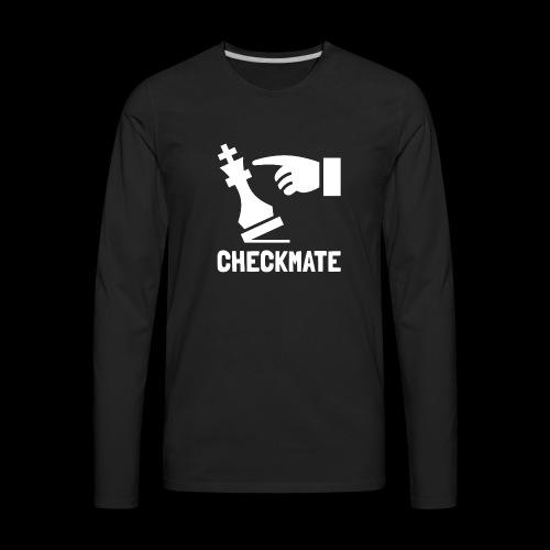 Checkmate | Chess Champion - Men's Premium Long Sleeve T-Shirt