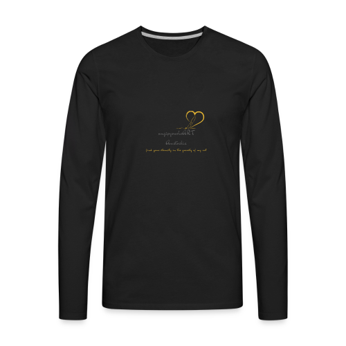 unzipyourheART - Men's Premium Long Sleeve T-Shirt