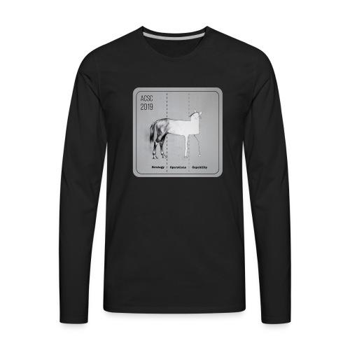Horse Drawn Capability - Men's Premium Long Sleeve T-Shirt