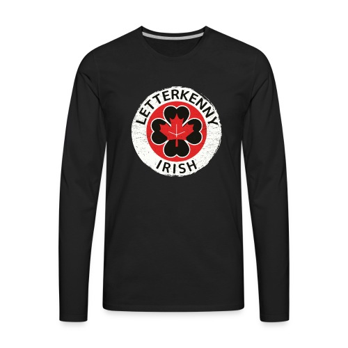 Shamrock Irish Letterkenny - Men's Premium Long Sleeve T-Shirt