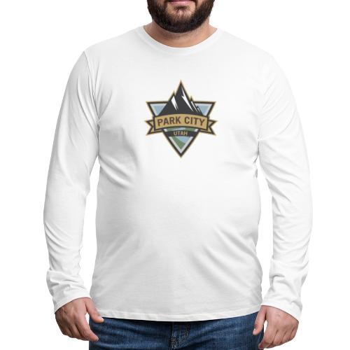 Park City, Utah - Men's Premium Long Sleeve T-Shirt