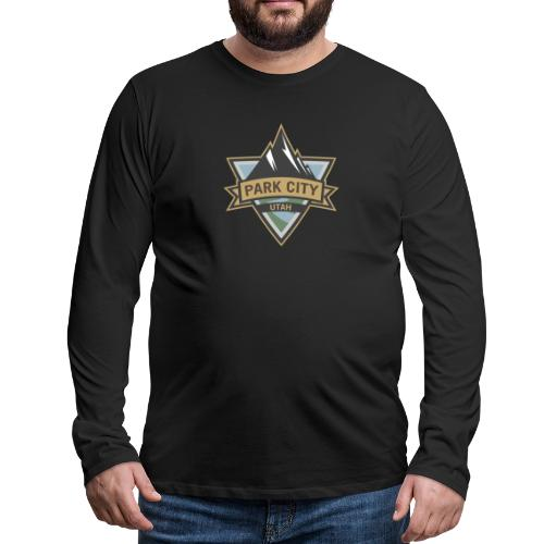 Park City, Utah - Men's Premium Long Sleeve T-Shirt