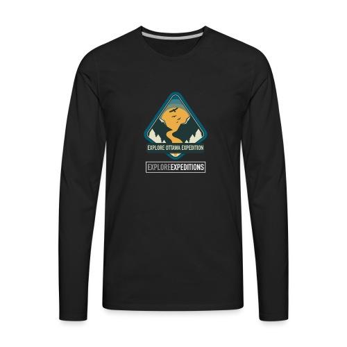Explore Ottawa Expedition - Men's Premium Long Sleeve T-Shirt