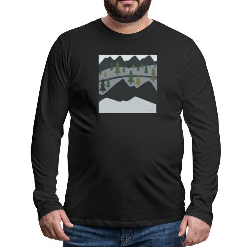 Scenic View - Men's Premium Long Sleeve T-Shirt