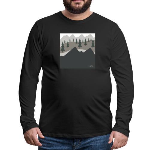 Views - Men's Premium Long Sleeve T-Shirt