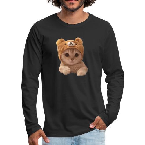 uwu catwifhat - Men's Premium Long Sleeve T-Shirt