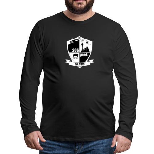 206geek podcast - Men's Premium Long Sleeve T-Shirt