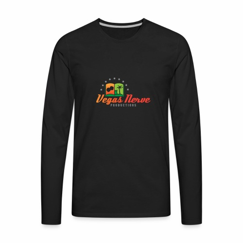 b17471_VEGAS_LOGO_NP_2 - Men's Premium Long Sleeve T-Shirt
