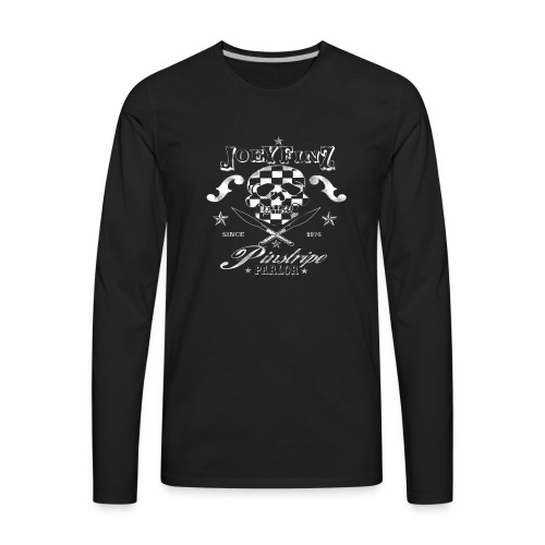 Pinstripe Parlor - Men's Premium Long Sleeve T-Shirt